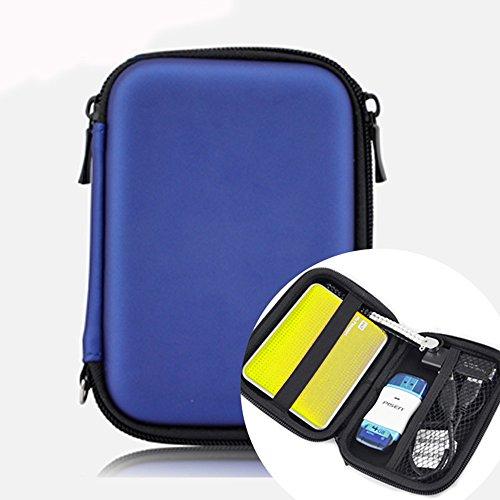 External Hard Drive Case Pouch 2,5, Neppt rigida Borsa del