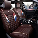 Autositzbezug Set Leder, Autositzbezug, Vorder- und Rücksitze, für 5 Sitze