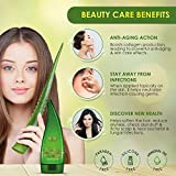 WOW Aloe Vera Multipurpose Beauty Gel for Skin and Hair, 130ml