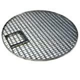 54cm Round Galvanised Water Feature Grid with Access Hatch