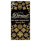 Divine Chocolate 70% Dark Chocolate 100 g