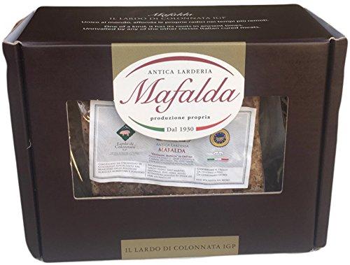 Box Mafalda con 500 gr. di Lardo di Colonnata IGP + opuscolo descrittivo
