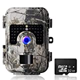 2019 Upgraded Trail Camera 16MP 1080P HD No Glow Wildlife Game Cameras 2.4''LCD