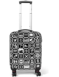 MasterGear - Valises Tailles Cabines, Medium ou Grandes - Set de 2 ou 3 Valises Possibles - Coque Design Résistante et Légère - Ultra Mobile - 4 Roulettes 360° - Plusieurs Coloris Dispo !