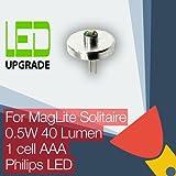 MagLite Solitaire Taschenlampe, LED-Lampe, Umbau/Aufrüstung für MagLite Solitaire Taschenlampe 1AAA
