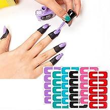 6pcs Demarkt Protector de Esmalte de Uñas Color mixto Desechable Protector de Cutículas Protector de la