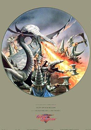Rodney Matthews - Fantasy - The Dwarves Of Belegost Poster Stampa (89 x 59cm)