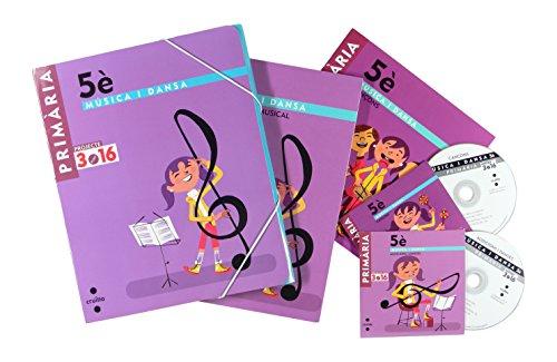 Música i dansa. Llenguatge musical. Danses + Cançons + Flauta de bec. Nivell 2. 5 Primària. Projecte 3.16 - 9788466122085
