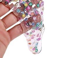 Autone Fruit Crystal Slime Clay, Fidget Plasticine Mud Toy Gift For Kids (Flower)