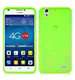 TBOC® Grün Gel TPU Hülle für Huawei Ascend G620S