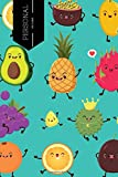 "Personal Meal Planner: 52 Week Planner With Weekly Weight Tracker |Record Breakfast, Lunch, Dinner,  Snacks, Water Consumption & Shopping List | Daily ... Goals | 6"" x 9"" Portable: Volume 12 (Healthy)"