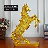 WENYAO Willower Creative Horse Lance Une Campagne de recrutement réussie avec l'envoi de Cadeaux d'affaires à la Boutique de l'entreprise Ouverte et relocalisation des Clients, Golden Horse (Classic)...