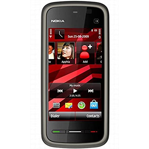 Nokia 5230 Navigation Edition Smartphone (UMTS, Bluetooth, GPS, 2 MP, Ovi Karten) black red
