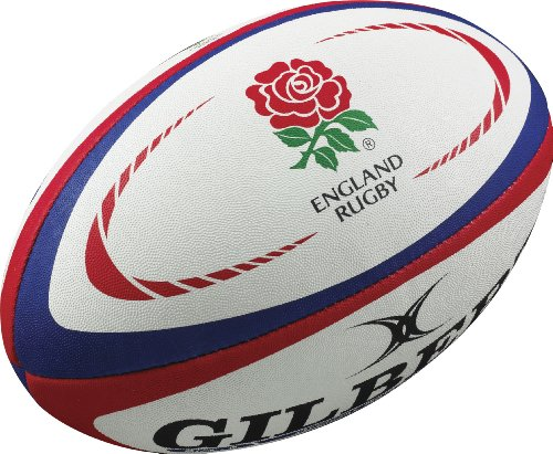Gilbert England Rugby Ballon de rugby Reproduction Replica Ball 5