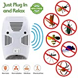 Zurato Ultrasonic Pest Repellent for Kitchen, Living Room, Office, Electronic Bug Repellent Reject