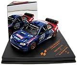 Vitesse - Sunstar Geschwindigkeit–Sunstar–43134–Fahrzeug Miniatur–Subaru Impreza WRC07–3th Rallye Monza 2009–Maßstab 1/43