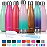 arteesol Water Bottle, Stainless Steel Double Wall Vacuum Insulated Drink Bottle, Keep Hot
