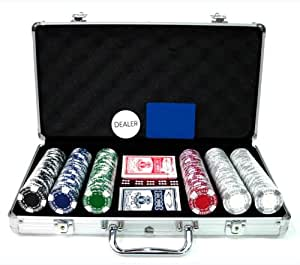 Jetons Clay Texas Hold'em - Mallette Clay - Mallette de 300 jetons Clay Texas Hold'em