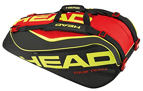 Head - Extreme 9 R Supercombi Tennistasche Schwarz