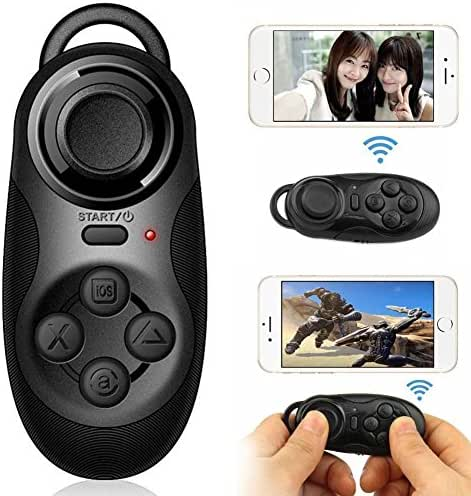 Haihuic Wireless Bluetooth Gamepads Joy Stick Selfie Shutter Controllers For IOS Android