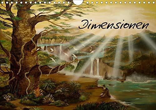 Dimensionen (Wandkalender 2020 DIN A4 quer): zwischen Zeit und Raum (Monatskalender, 14 Seiten ) (CALVENDO Kunst)