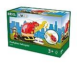 BRIO World 33797 - Feuerwehr Hubschrauber, bunt