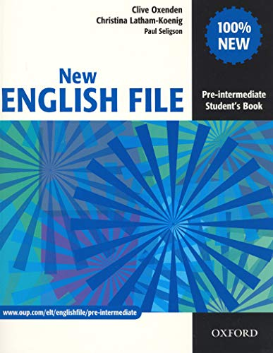New English File Pre-Intermediate: Student's Book: