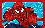 Disney Kinderteppich AUSWAHL (Spiderman quer blau)