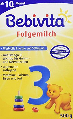 Bebivita 3 Folgemilch 1123, 1er Pack (1 x 500 g)