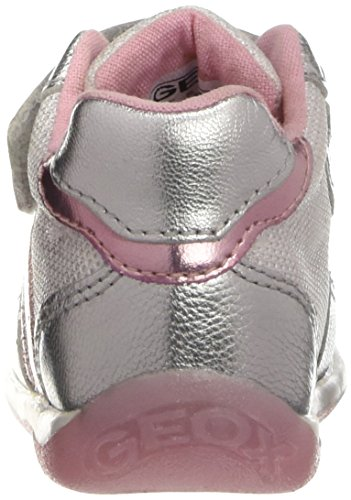 Geox B Each E, Chaussures Marche Bébé Fille Blanc (C0007)
