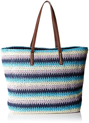 David Jones - Y011, Borse Tote Donna Blu (Blue)