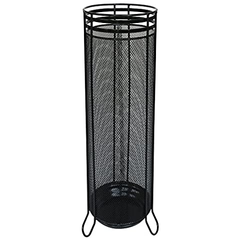 laroom 12033–Umbrella Stand, Black