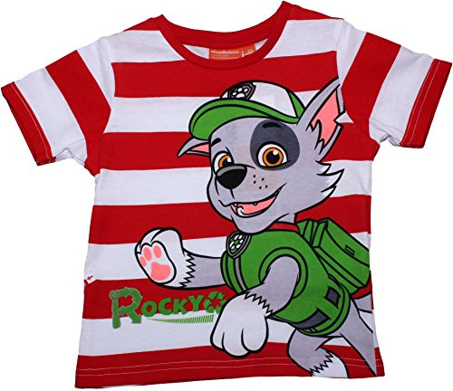 Paw Patrol Ready For Action Short Sleeve T Shirt By BestTrend