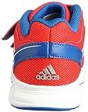 adidas Performance Unisex-Kinder Hyperfast CF Laufschuhe, Rot (Hi-Res Red F13/Metallic Silver/Blue Beauty F10) 34 EU - 2