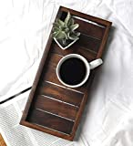 Creation India Craft Wooden Handicrafted Sheesham Wood Serving Tray or Dinning Table, Guest,Restaurant, Party & Gifted…