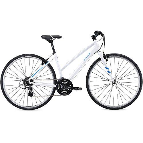 28 Zoll Fitnessbikes Fuji Absolute 2.1 ST Fitness Damen Fahrrad Crossrad, Rahmengrösse:48 cm, Farbe:White