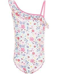 Accessorize Maillot de bain à une épaule motif floral - Fille