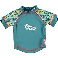 Close Parent 25892 - Camiseta de baño con protección UV, diseño Rockets, talla XL (24-36 meses), color azul