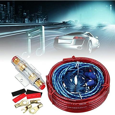 iglobalbuy 1500Watte 10Gauge Auto Audio amplificatore kit di cablaggio