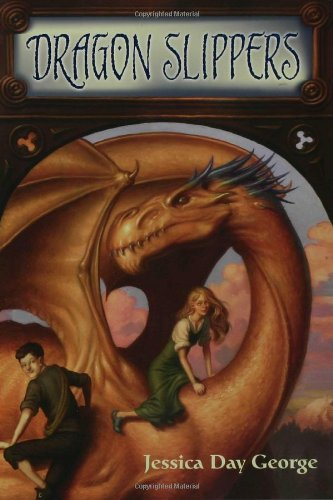Book cover for Dragon Slippers