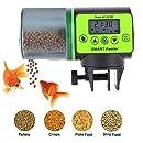 CDCASA Automatischer Futterspender für Fischfutter, feuchtigkeitsdichter Timer mit großer Kapazität, geeignet für Schildkröte, Betta, Koi Feeder