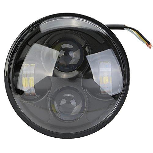 """Faro Delantero Motocicleta, OSAN Faro 5.75"""" HID Lámpara LED Faro Delantero Foco Proyector Para Harley"""
