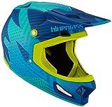 Bluegrass Brave Eagle Helm, Blue/Green, 56-58 cm