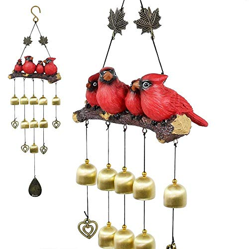 Monsiter Wind Chimes with Birds ...