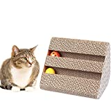 Best Cats Toys - Emily Pets Cat Scratch Pad,Scratcher with Catnip,Scratching Posts,Cat Review