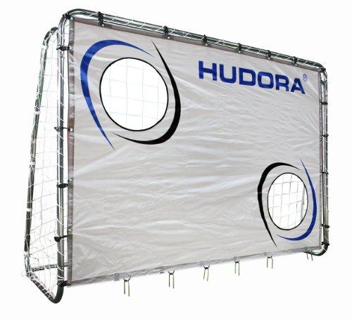 HUDORA Fußball-Tor Trainer mit Torwand - Fußballtor Garten - 76920