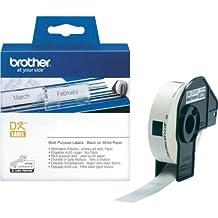 P-Touch QL 500 Brother Etiketten 17 x 54 mm, Papier, 400 Stück 17x54, DK Label für Ptouch QL500, QL 500A, 500BW