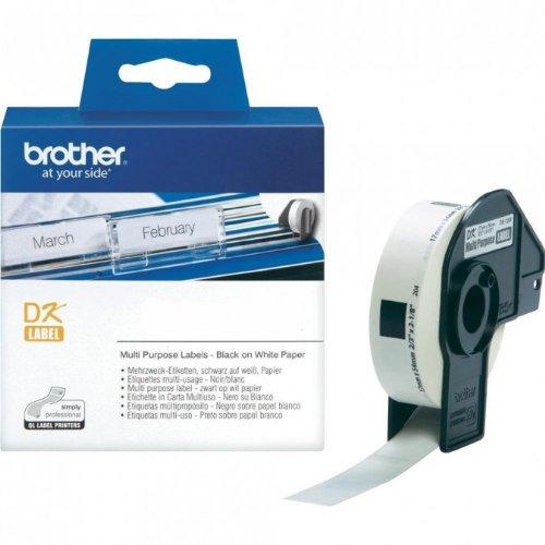 Preisvergleich Produktbild P-Touch QL 700 Brother Etiketten 17 x 54 mm, Papier, 400 Stück 17x54, DK Label für Ptouch QL700, QL-700