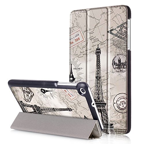 Price comparison product image Meimeiwu High Quality Full Protection Ultra Slim Lightweight Shell Stand Cover for HuaWei MediaPad T1 / T2 7.0 - Tower
