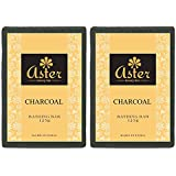 Aster Luxury Charcoal Bathing Bar 125g - Pack of 2